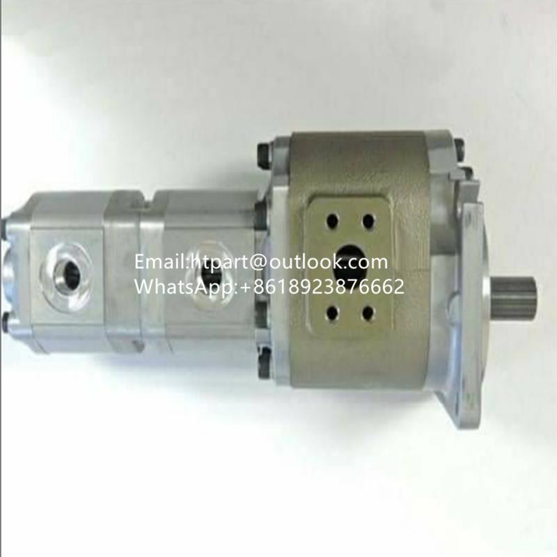 日立LX70-5裝載機液壓齒輪泵 FT3-56.20-11R532 1