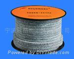 碳化纖維盤根,純碳纖維盤根,高碳纖維盤根,四角芳綸碳纖維盤根