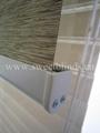 fibre/liene zebra blinds