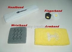 wristband, armband, fingerband