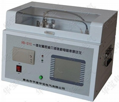 Liquid dielectric loss resistance tester