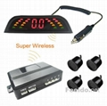 Car Wireless parking sensor(4 sensors)backup radar