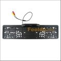 European License plate frame 170 deg.night vision camera