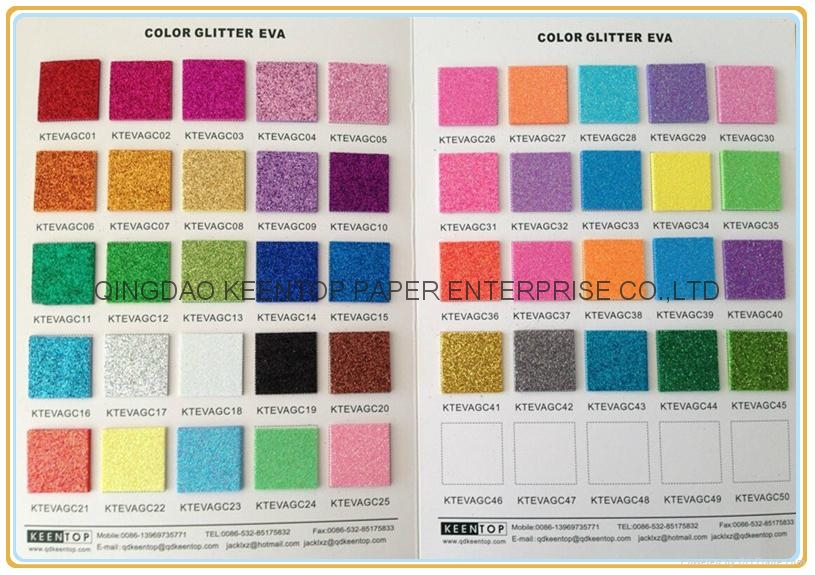 COLOR GLITTER PAPER FOR CRAFT WORK AND WRAPPING 5