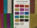 COLOR GLITTER PAPER FOR CRAFT WORK AND WRAPPING 1