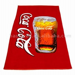 Velour Printed Beach Towel