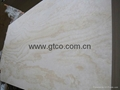 Pine faced poplar core plywood