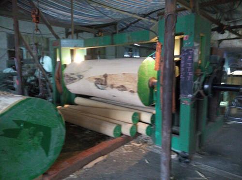 Log Debarker (with Vertical Spindle)