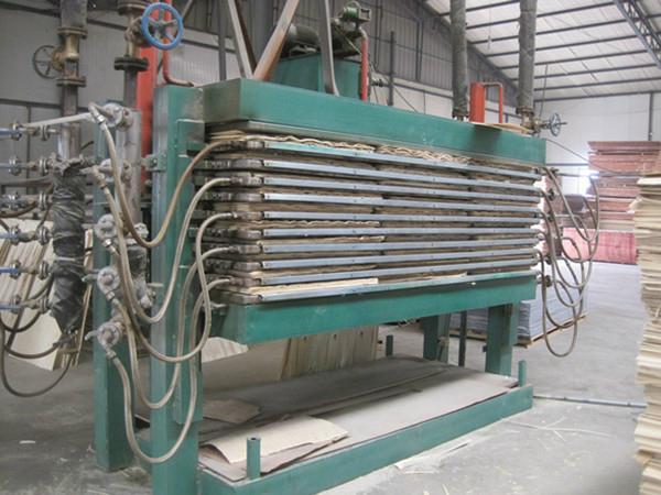 Hot Platen Veneer Dryer