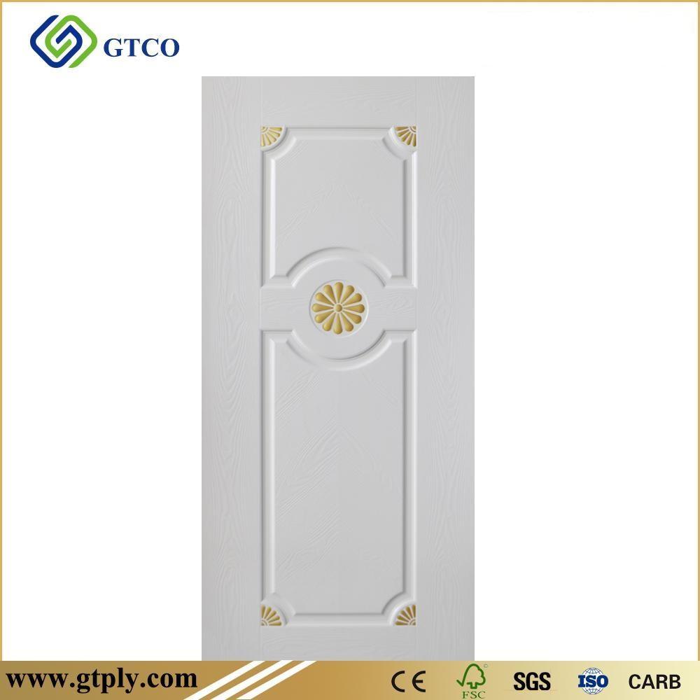 White Melamine HDF Door Skin