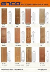 Nature Wood Veneer HDF Door Skin Catalogue