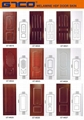 Melamine HDF Molded Door Skin Catalogue