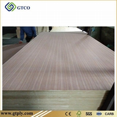 Nature Wood Veneer Faced  MDF Board