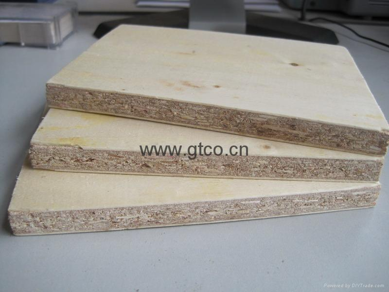 Construction Grade Particle Board ~ Wood veneer faced particle board gtpb gtco china