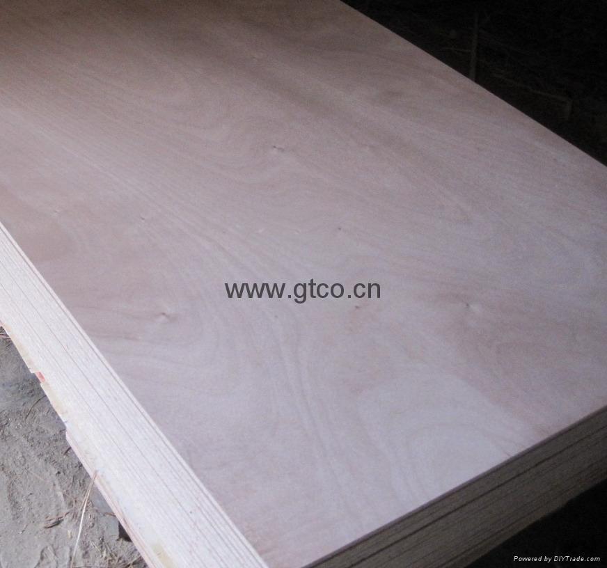 Wood veneer faced particle board gtpb gtco china