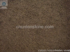Golden Black Granite Bush-Hammered From China