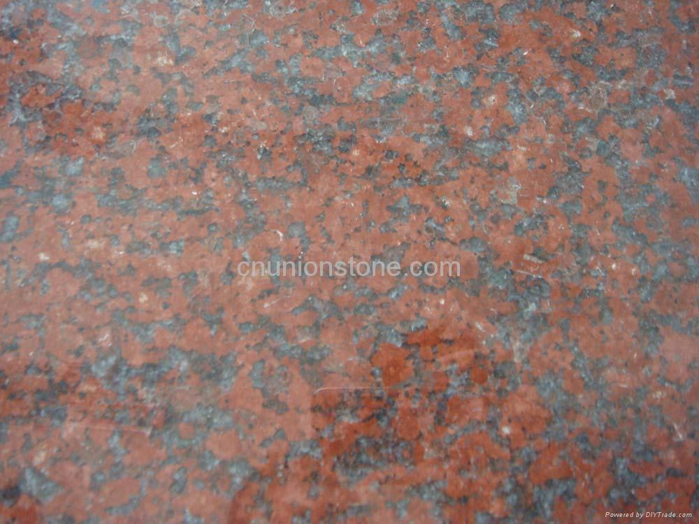 Product Red Granite : Tianshan red granite tiles union stone china