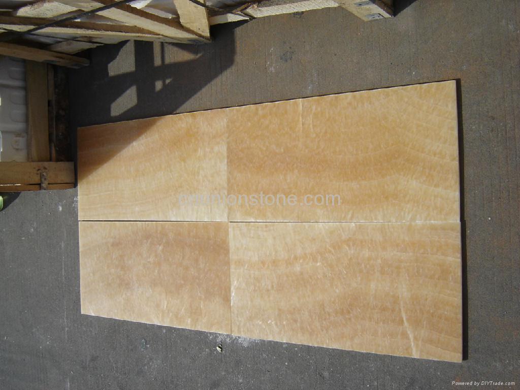 Honey Granite Slabs : Onyx yellow marble slabs honey flooring tiles