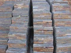 Stacked Stone Cladding, Ledge Stone,Rust Slate