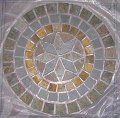 slate pattern / slate mosaic / mosaic pattern /meshed slate mosaic