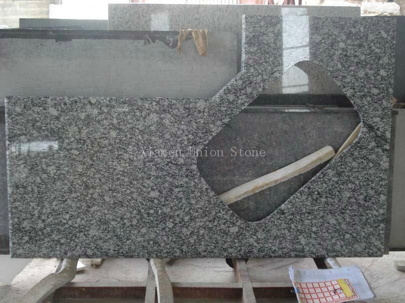 Grade Stone Material Polished Hot Granite Countertop - China -