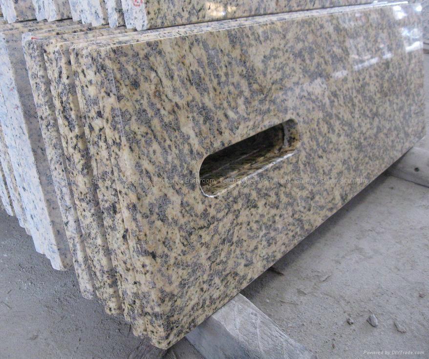 Hot Countertop Materials : Grade Stone Material Polished Hot Granite Countertop - China Union ...