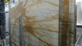 High Polished Italy Import A Grade Big Slab Stone Giallo Siena Marble 2