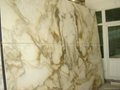 High Polished Italy Import A Grade Big Slab Stone Giallo Siena Marble 4