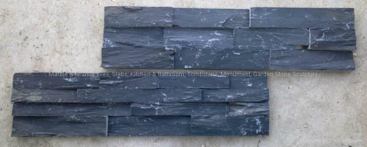 Nature Quartz Stone Wall Cladding White Slate Culture Stone 5