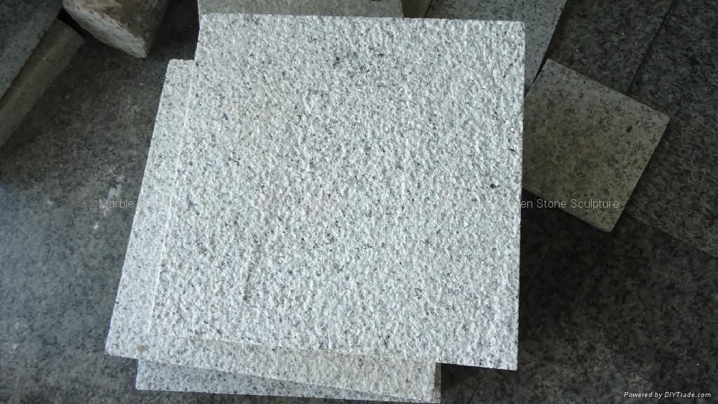 Promotional Hot Nature Stone Bush Hammer Granite G603