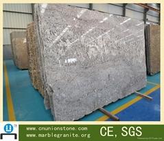 Promotional Price Union Polished Slab Stone Grey Marble