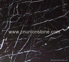 Nero Marquina Floor Tiles