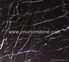 Nero Marquina Floor Tiles