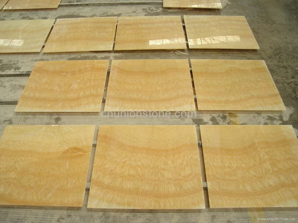Onyx Stone Flooring : Onyx yellow marble slabs honey flooring tiles