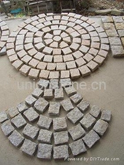 granite Paving stone & cubestone