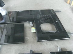 Shanxi black granite cou