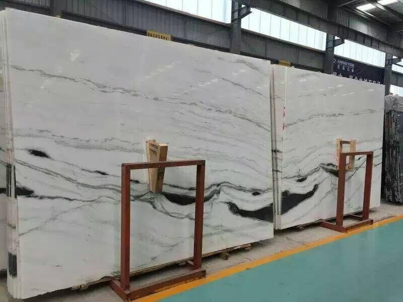 Italy luxury panda white marble - Union Stone (China Manufacturer ...