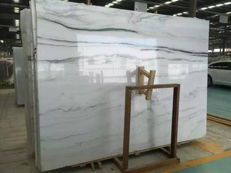 Italy Luxury Panda White Marble Union Stone China