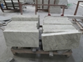 Custom cut andromeda white granite