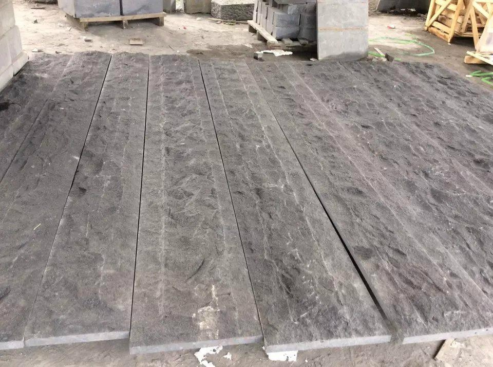 G684 granite mushroom stone for outdoor wall cladding