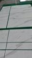 white volakas marble floor tile