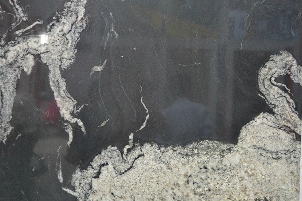 Nero fantasy black granite
