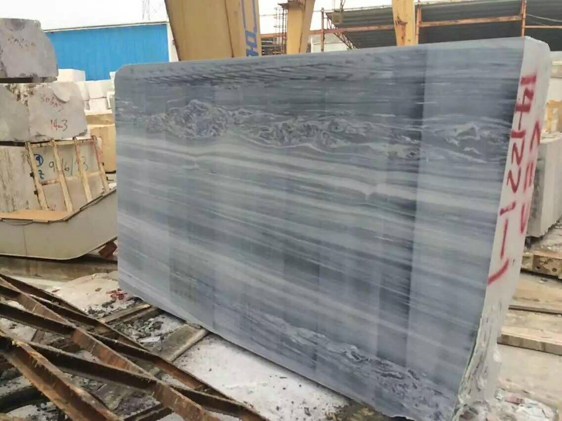 Sky Blue Serpeggiante Marble Blue Marble Union Stone