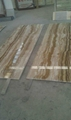 Brown wooden onyx tiles