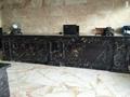 Athen gold & black marble tile 3