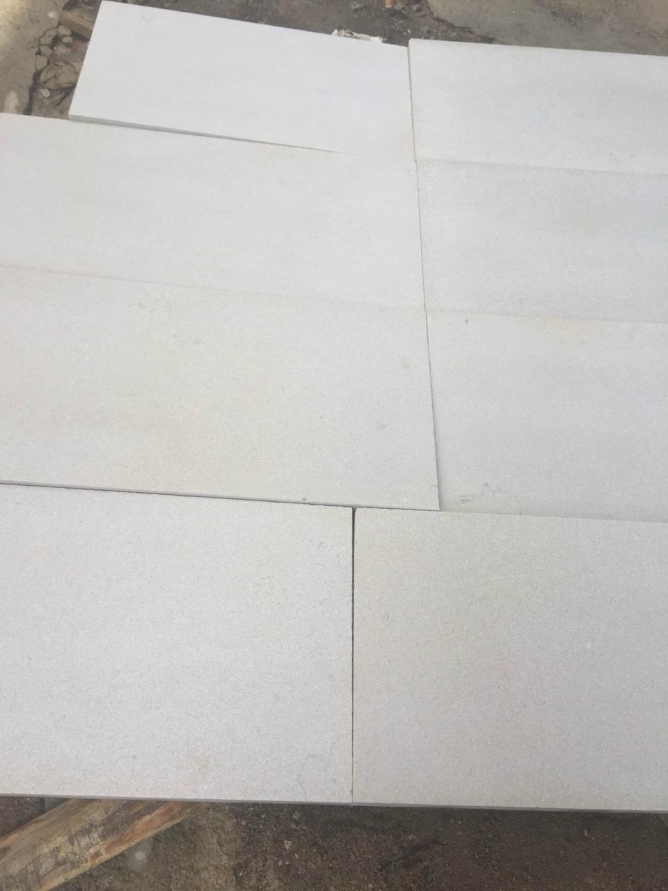 Sandblasted shay grey marble tile 1