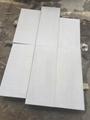 Sandblasted shay grey marble tile 2