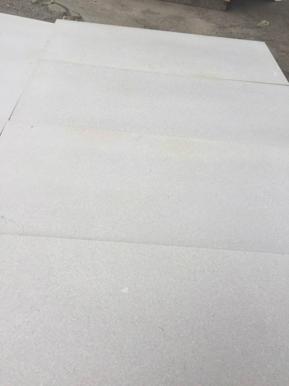 Sandblasted shay grey marble tile 3