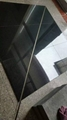 China shanxi black granite tile