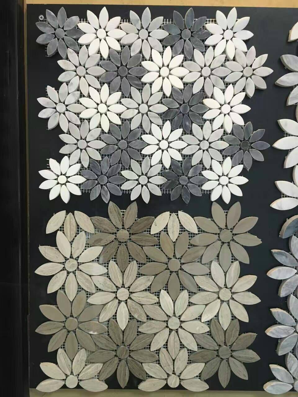 Flower Marble Mosaic Tile China Manufacturer